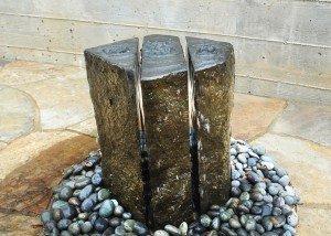 Water Feature Split Rock